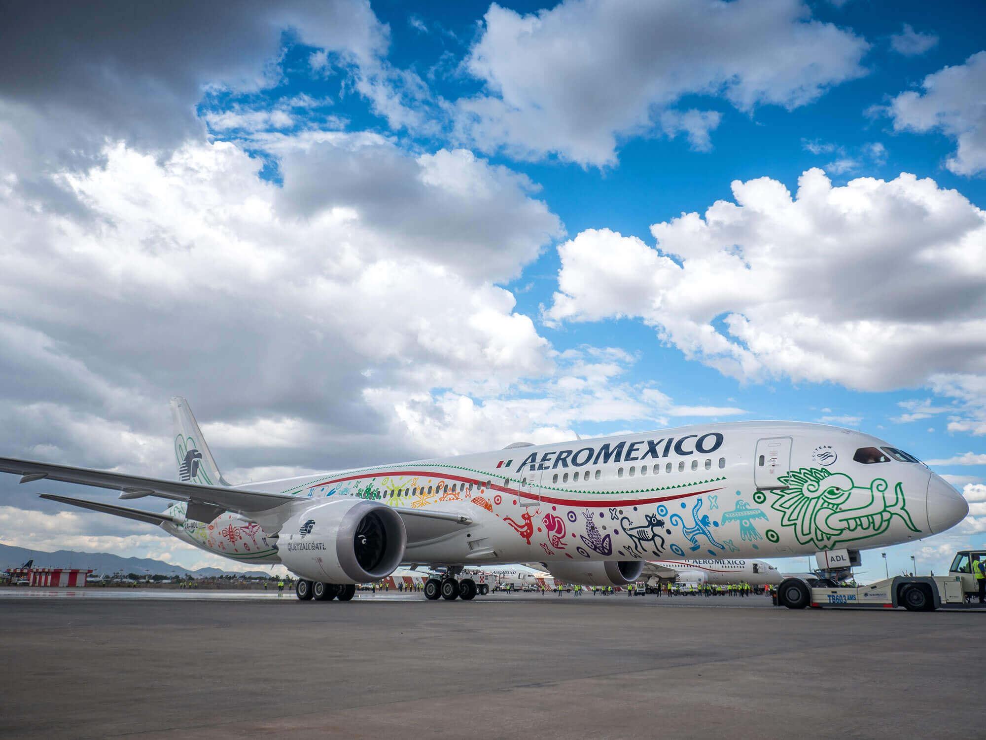 Boeing Dreamliner 787-9   Aeroméxico